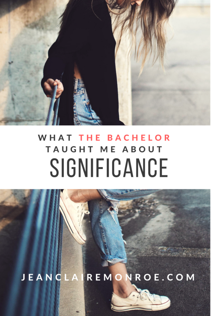 what the bachelor taught me about significance